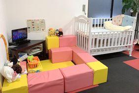 おもちゃいっぱい!安全配慮のプレイスペース