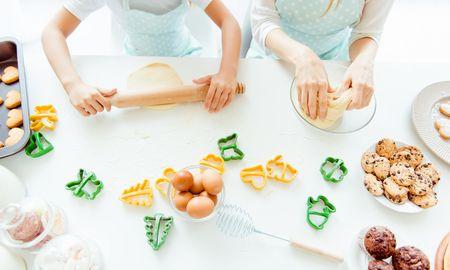 3.親子でお菓子作りなどのクッキングを楽しむ!