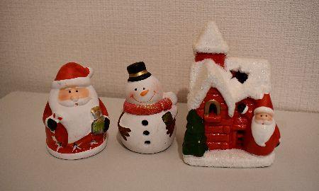 窓際や玄関に飾りたい!クリスマスを演出する置き物