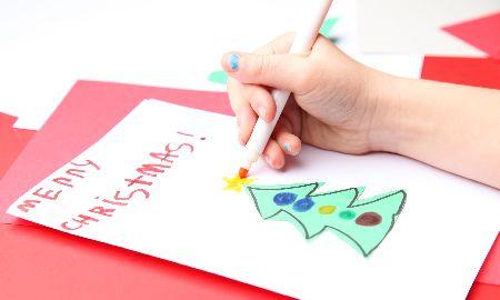 クリスマスにお手紙交換はいかが?親子でメッセージカードを贈り合おう