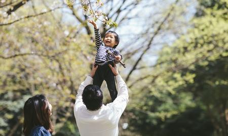 【穴場】遊びながら楽しむ!子連れで楽しめる花見スポット